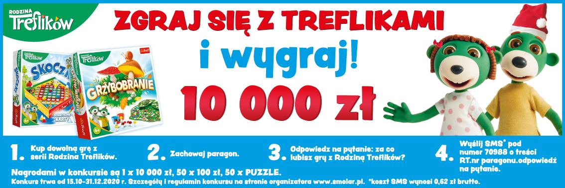 Zgraj się z Treflikami! Konkurs SMS z Rodziną Treflików!