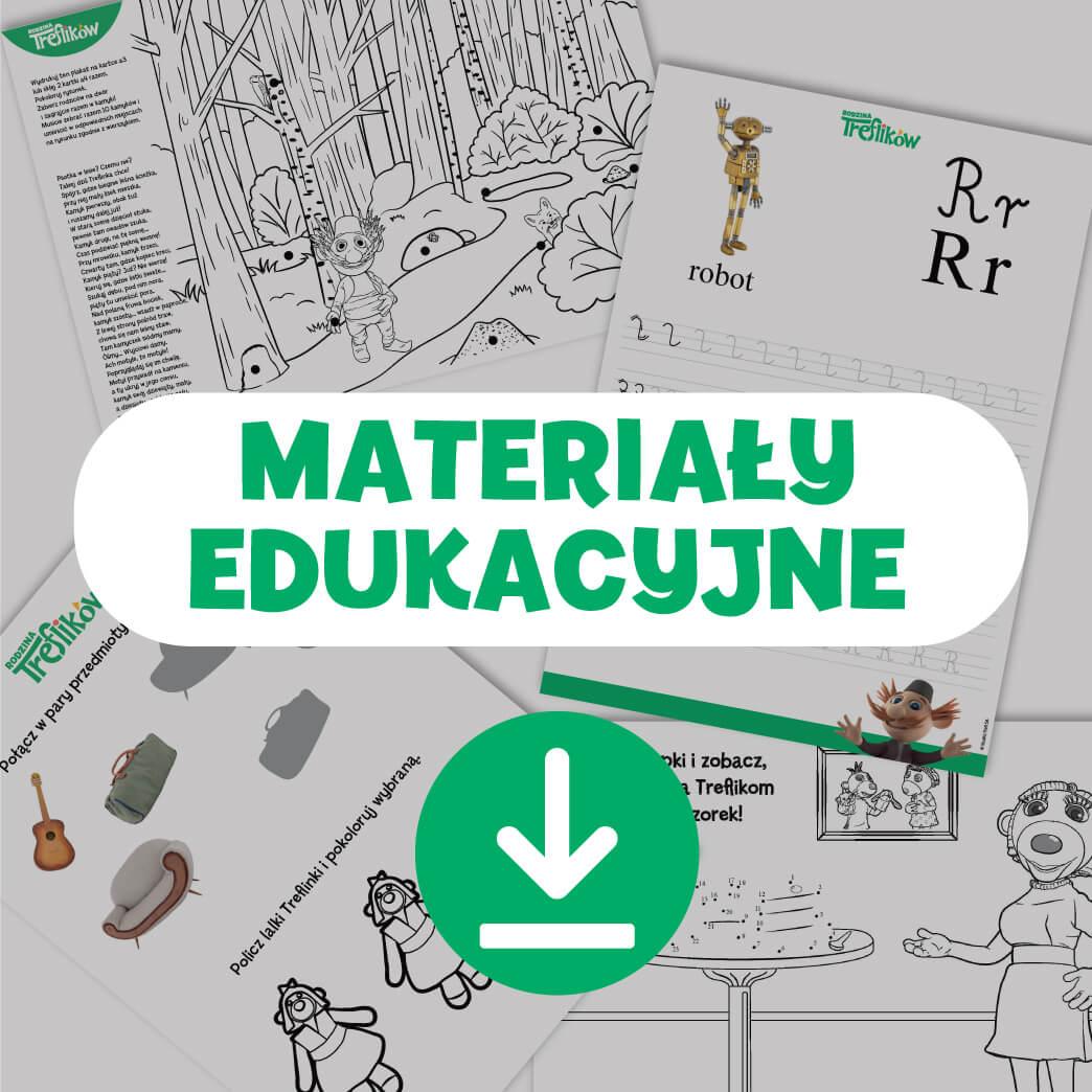 materiały edukacyjne Rodzina Treflików